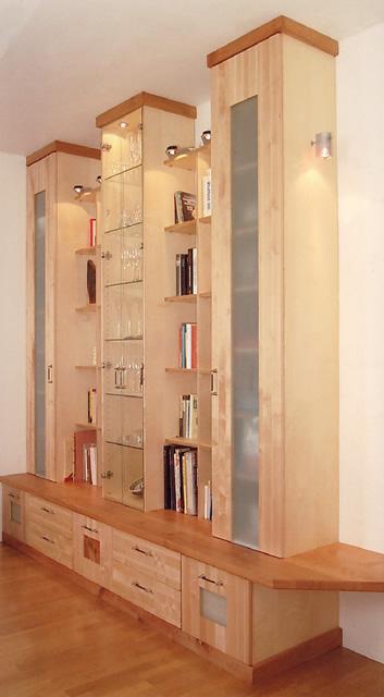 Die Möbelschreiner - wohnzimmerwaende